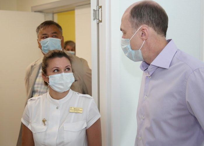 Завершается строительство второго блока детского хирургического корпуса ресбольницы