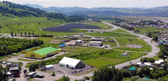 Цех по переработке сельхозсырья и дикоросов строят на территории агропромпарка