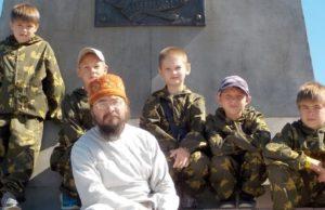 Воспитанники «Школы патриотов России» приняли участие в автомобильном крестном ходе