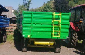 Три тракторных прицепа и четыре лесных плуга: новая техника для защиты лесов