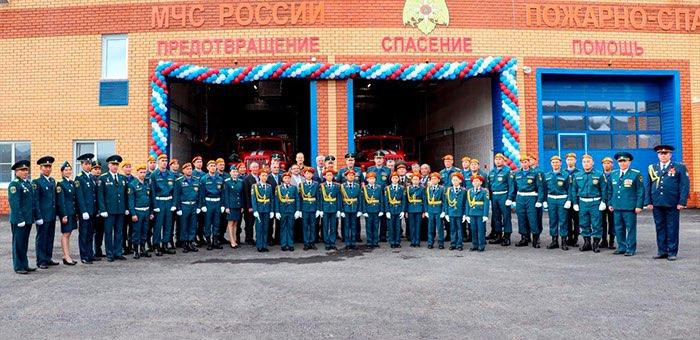 Федеральная пожарно-спасательная часть открылась в Онгудае