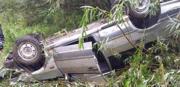 Нетрезвый турист перевернулся на машине в Турочакском районе
