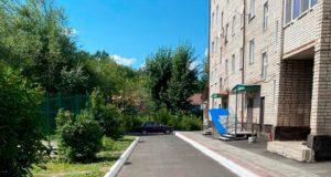 Благоустроена дворовая территория дома №99 по проспекту Коммунистическому