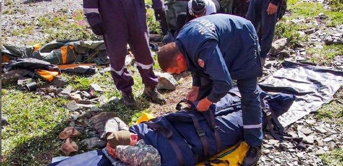 Происшествия с туристами: двое спасены, одна женщина погибла
