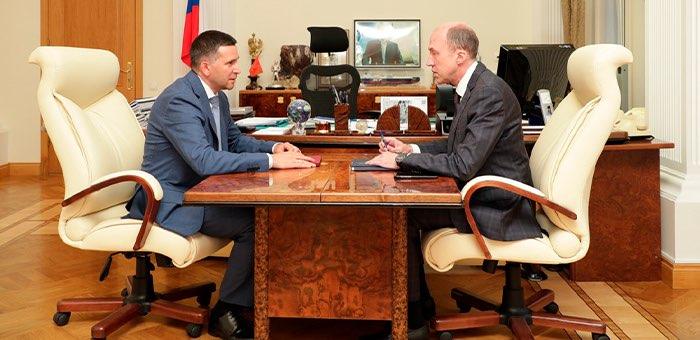 Олег Хорохордин обсудил с министром экологии проблему ликвидации опасных отходов в Акташе