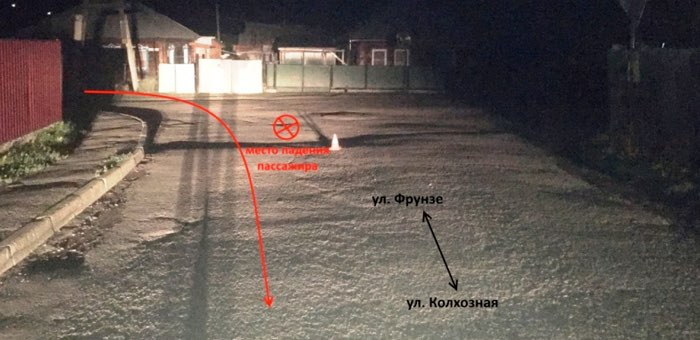 Маленькая девочка выпала из движущейся машины в Горно-Алтайске