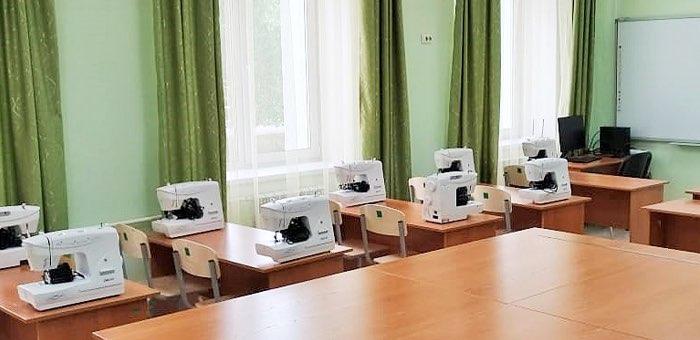 В коррекционную школу поступило новое оборудование