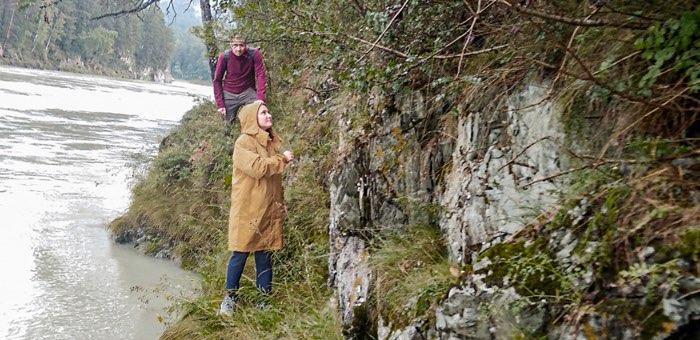 В районе Аската на скале застряли омские туристы