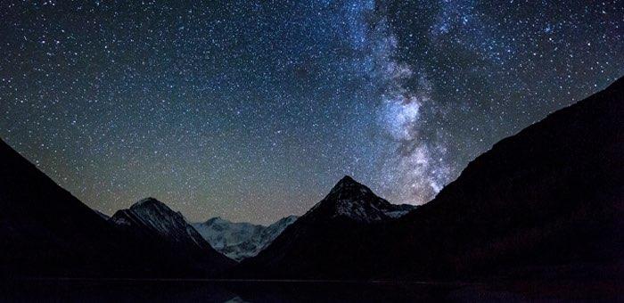 Окрестности Белухи вошли в список лучших мест для наблюдения за звездным небом