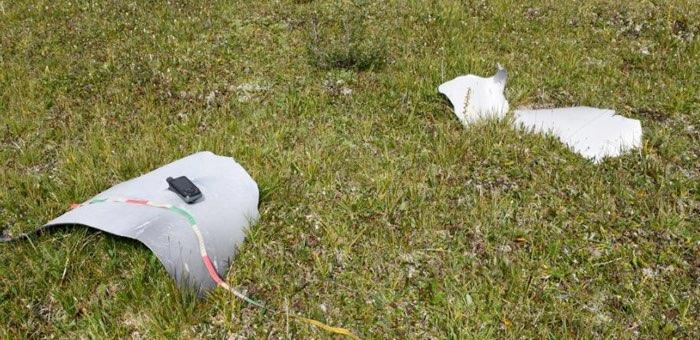 Три фрагмента ракеты «Протон-М» обнаружили на Алтае после последнего запуска с Байконура