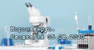 Ситуация с коронавирусом в Республике Алтай. Сводка за 5 августа