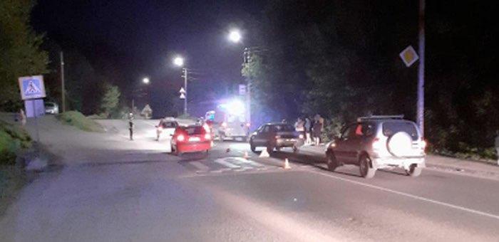 Водитель из Кызыл-Озека сбил горожанина на пешеходном переходе