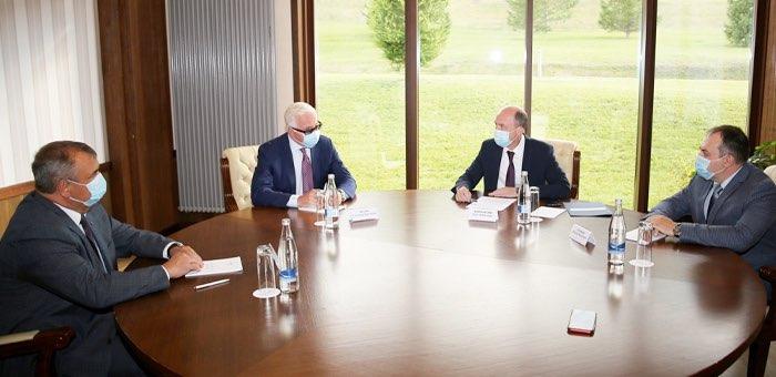 Олег Хорохордин провел переговоры с руководителем Российского союза промышленников и предпринимателей