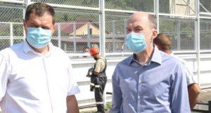 Олег Хорохордин посетил с рабочей поездкой Чемальский район