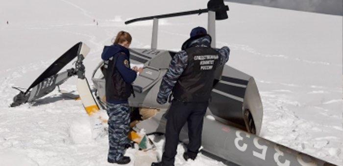 Пилот не справился с порывами ветра: первая версия «жесткой посадки» вертолета на Белухе