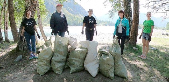 Акция #ЧистыеГоры прошла в Мараловодке и Катанде