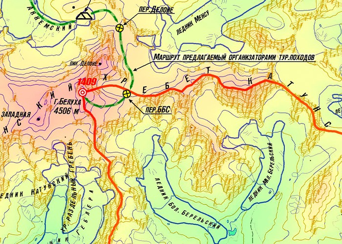 Белуха Восточная: стоит ли восходить и рисковать? Разъяснение пограничников
