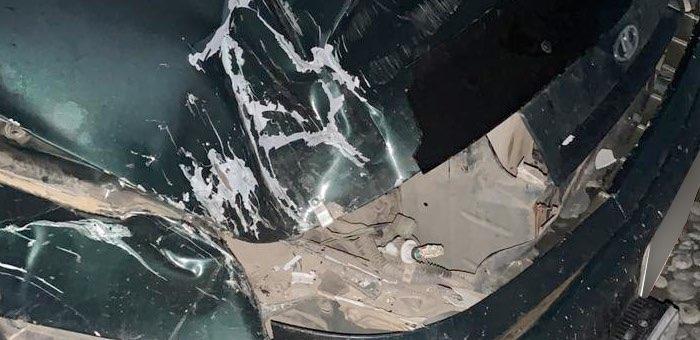 Горожанин отомстил своему обидчику, раздавив его машину на ГАЗ-66
