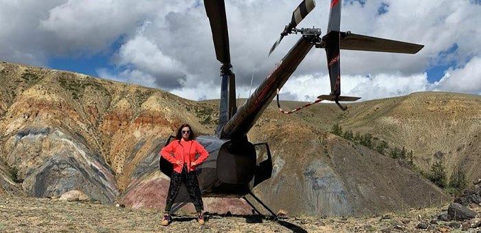 Телеведущая Екатерина Андреева отдохнула в Горном Алтае