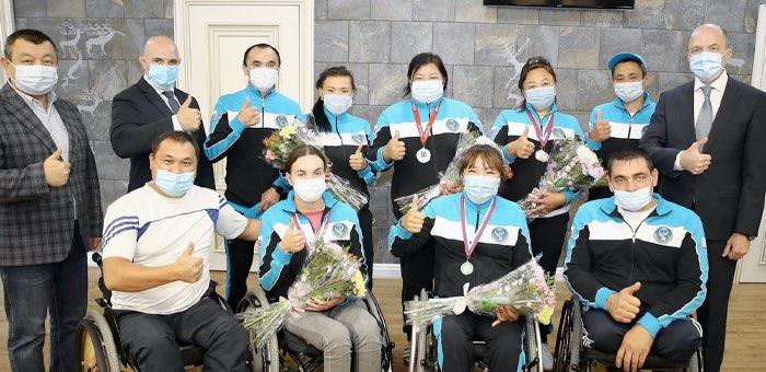 Команда Республики Алтай завоевала пять медалей в спортивном фестивале «Пара-Крым»