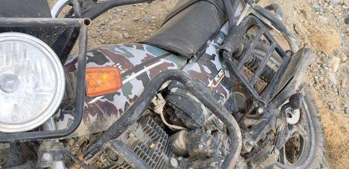 Нетрезвый мотоциклист не доехал от Бельтира до Ортолыка