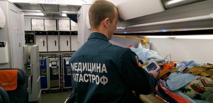 Пострадавший в ДТП подросток из Акташа эвакуирован в больницу Санкт-Петербурга