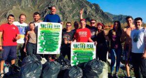На Алтае в очередной раз прошла акция «Чистая река»