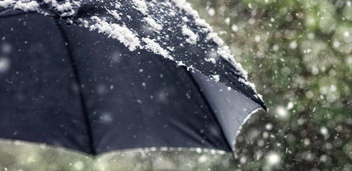 Штормовое предупреждение: ожидаются ветер, дождь и снег