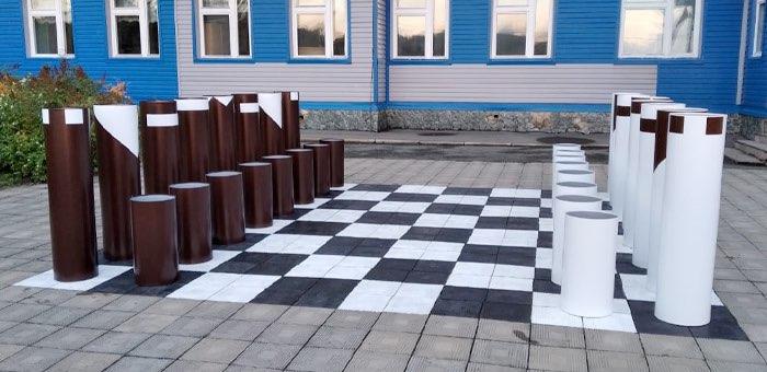 Шахматную студию обустроили в школе Тондошки