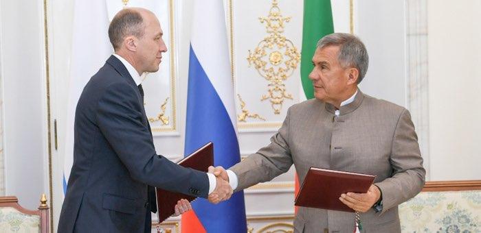 Олег Хорохордин и Рустам Минниханов договорились о сотрудничестве регионов
