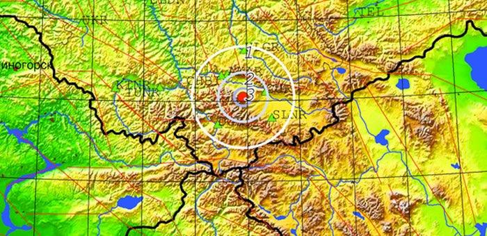 В Кош-Агачском районе произошло небольшое землетрясение