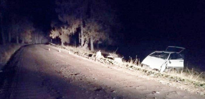 На Уймонском тракте перевернулась «девятка» с нетрезвым водителем без прав