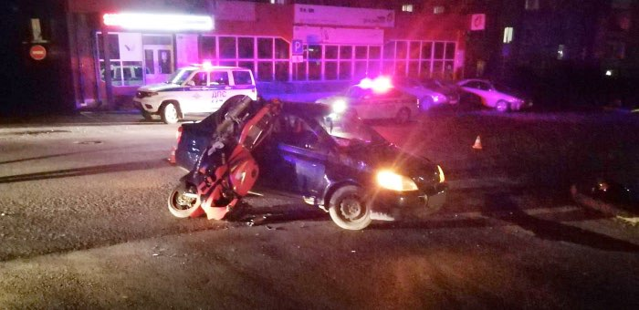 27-летняя горожанка сбила мотоциклиста без прав