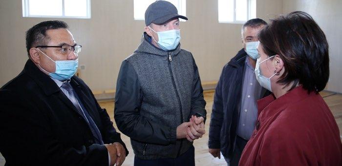 Олег Хорохордин побывал с рабочим визитом в Онгудайском районе