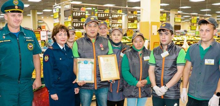 Сергею Ардиматову вручили медаль «За доблесть и отвагу на пожаре»