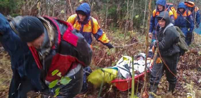 Туриста, сломавшего ногу, доставили в Турочакскую больницу