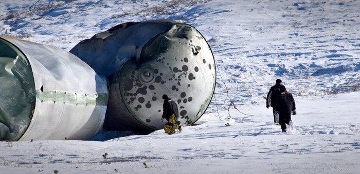 Четыре бака окислителя ракеты-носителя «Протон» вывезли с территории Чемальского района