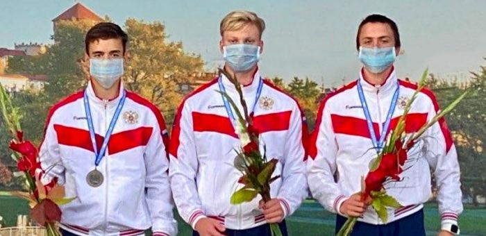 Спортсмен из Горного Алтая стал призером первенства Европы по гребному слалому