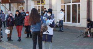 В Горно-Алтайске прошел пикет «Остановим вторую волну Covid-19»
