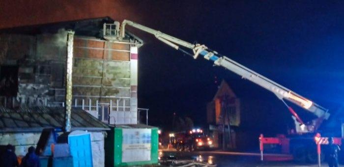 Два человека погибли в результате пожара в Горно-Алтайске