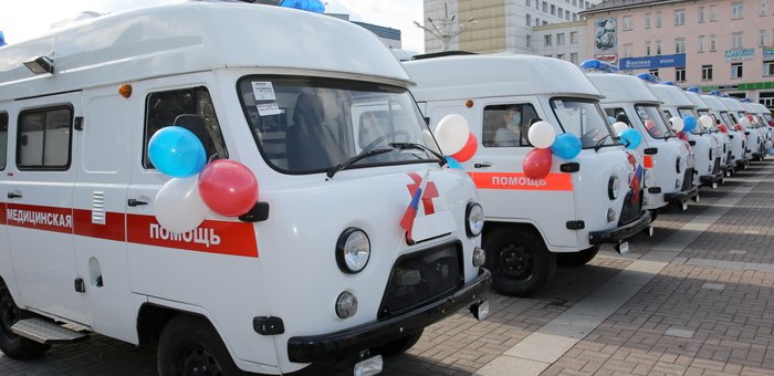 Новые автомобили скорой помощи поступили в Республику Алтай