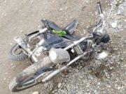 Сельчанка не уступила дорогу мотоциклу, 16-летний мотоциклист госпитализирован