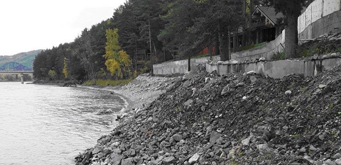 Фирму оштрафовали за изменение береговой линии реки Катунь