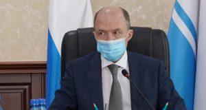 Олег Хорохордин поручил усилить контроль за соблюдением эпидрежима