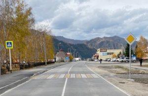 Ремонт 12 участков региональных дорог завершен в Республике Алтай