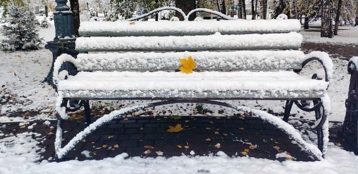 Осадки в виде мокрого снега: в республику пришло похолодание