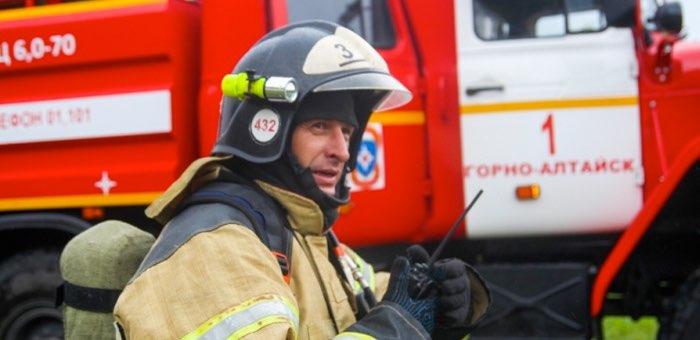 Пожарные быстро ликвидировали возгорание в административном здании