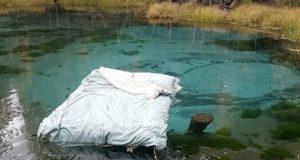 Участники «постельных съемок» на Гейзерном озере скрываются от журналистов