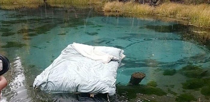 Участники «постельных съемок» на Гейзерном озере скрываются от общественности