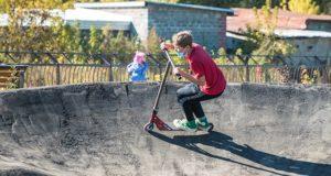 В Горно-Алтайске для любителей спорта открыли памп-трек